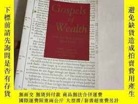 二手書博民逛書店Gospels罕見of WealthY13534 Schervi