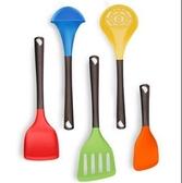 烹飪鏟勺  硅膠鏟廚具套裝家用鍋鏟勺子烹飪工具組合裝耐高溫不粘鍋【快速出貨】