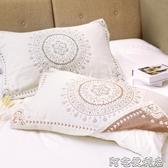 新品純棉紗布枕巾一對日繫全棉四層枕頭巾男女學生宿舍枕頭巾 交換禮物