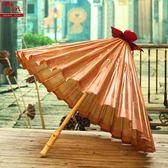 山越加厚復古大油紙傘古風攝影視道具傘