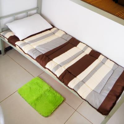 單人床墊 大學寢室學生宿舍架子床床墊褥子單人加厚保暖單人床冬季厚褥【完美生活館】