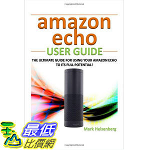 [104美國直購] Amazon Echo User Guide 亞馬遜指南書