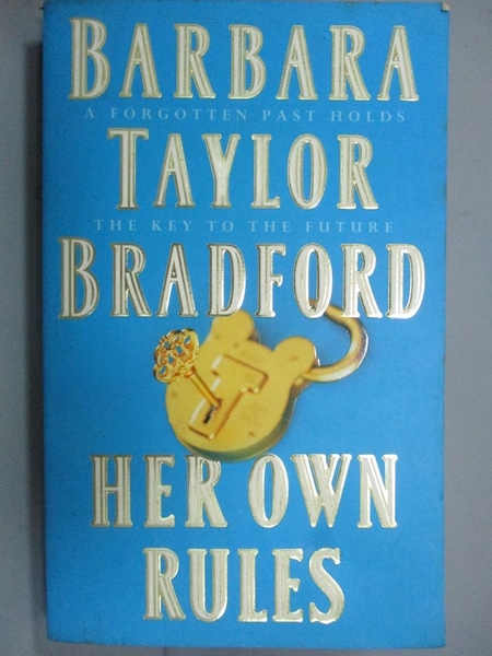 【書寶二手書T4/原文小說_KJJ】Her Own Rules_Barbara Taylor Bradford