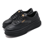 Puma 休閒鞋 Deva Wns 黑 全黑 金標 女鞋 運動鞋 厚底 【ACS】 37119901