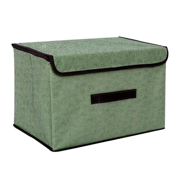 【小款25×19×16cm】台灣現貨 可摺疊不織布收納盒 折疊收納箱 收納籃 儲物盒 儲物箱