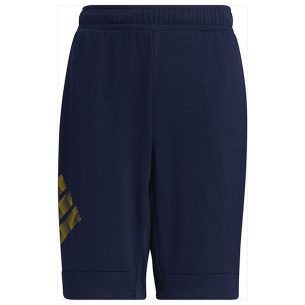Adidas BADGE OF SPORT SHORTS 童裝 短褲 休閒 吸濕 乾爽 深藍【運動世界】GP0818