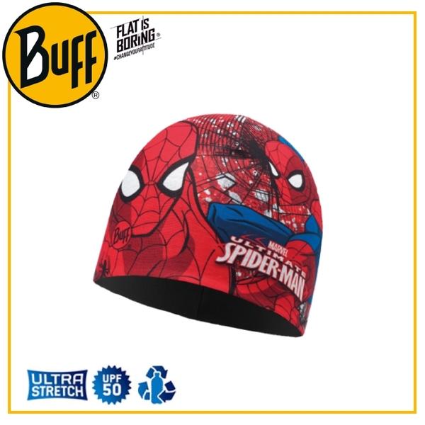 【BUFF 西班牙 青少年 超級英雄雙層保暖帽 Plus 鬼影蜘蛛】118291/秋冬/帽子/舒適/滑雪/毛帽/吸濕排汗