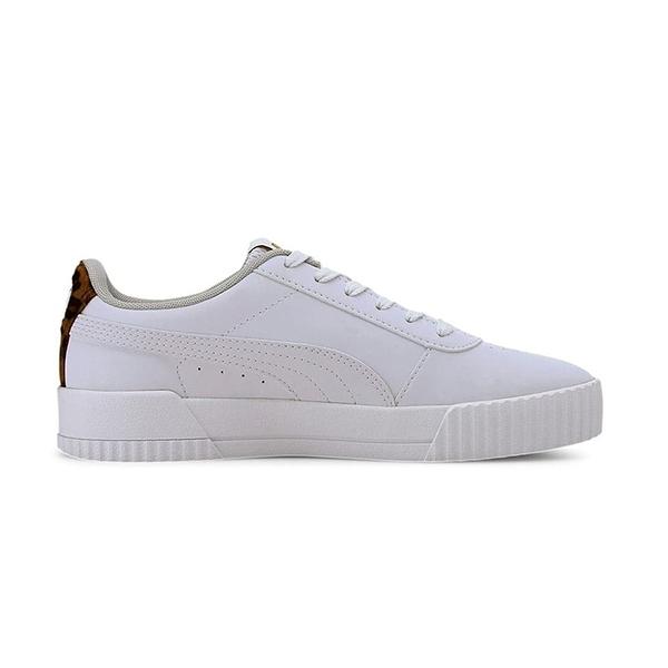 PUMA Carina Leo H Shoes 白色 白金 基本款 休閒鞋 運動鞋 373228-03