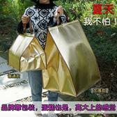 保冷袋--生日蛋糕保溫袋冷藏袋大號6/10/12寸加厚鋁箔保鮮冰包配送保冷袋  多莉斯