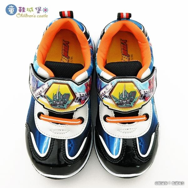 童鞋城堡-E5 隼號 LED電燈酷炫運動鞋 新幹線變型機器人SK8057 藍/黑 (共二色)