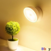 【貝貝】檯燈 自動感應 小夜燈 可充電式 聲控 過道 臺燈