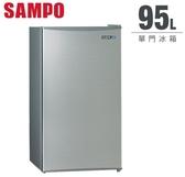 【佳麗寶】-(SAMPO聲寶)迷你獨享冰箱-單門冰箱-95公升SR-B10