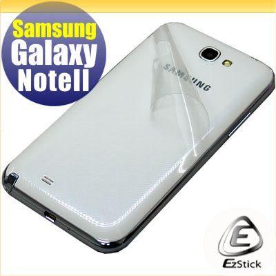 【EZstick】SAMSUNG Galaxy NOTE 2 NOTE II N7100 N7102 專用 - 透氣機身保護膜