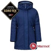【Marmot】女 GORE-TEX Kristina女GT長版單件式鵝絨外套『藍紫』1215-78480  防風 防潑水 透氣