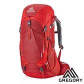 【美國 GREGORY】AMBER 登山背包 34L『火鶴紅』126867 (專為女性設計) 登山|露營|後背包