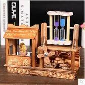 創意木質跳舞八音盒旋轉音樂盒Lhh320【大尺碼女王】