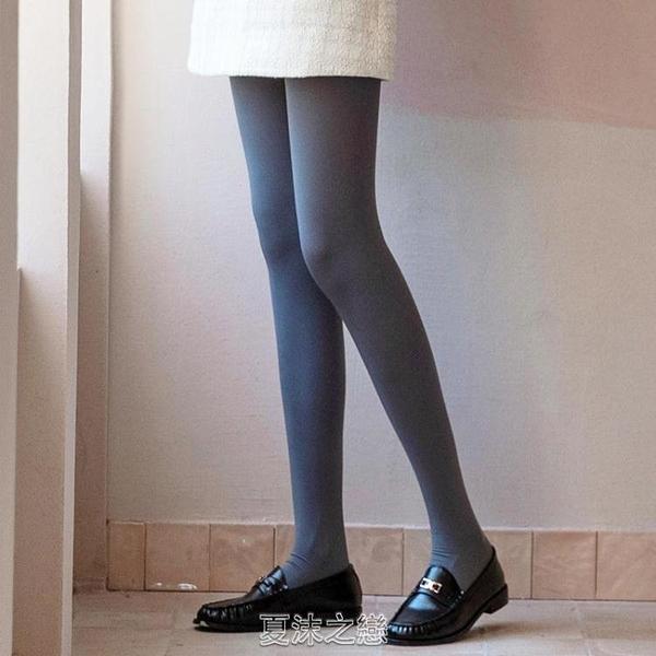 天鵝高腰顯瘦連褲襪女光腿神器打底襪春秋中厚外穿打底褲 快速出貨