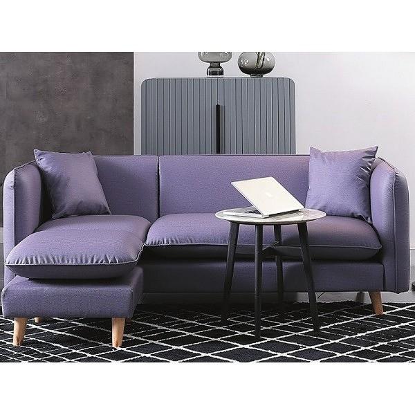 沙發 L型皮沙發 CV-333-3 麥勒斯紫色 (可左右擺放) 【大眾家居舘】