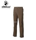 丹大戶外用品 荒野【Wildland】男彈性輕薄防風防潑長褲 型號 0A62316-63 深卡其