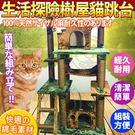 【培菓平價寵物網 】寵愛物語生活探險系列》樹屋貓跳台CT28