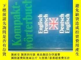 二手書博民逛書店Kompakt-Worterbuch罕見PONS Englisc