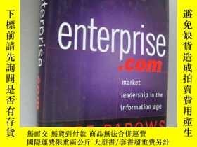 二手書博民逛書店enterprise.com罕見(market Leadersh