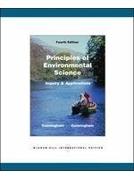 二手書博民逛書店《Principles of environmental science : inquiry & applications》 R2Y ISBN:0071101942