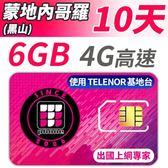 【TPHONE上網專家】蒙地內哥羅 (黑山) 高速上網 包含6GB網路超大流量 插卡即用 10天
