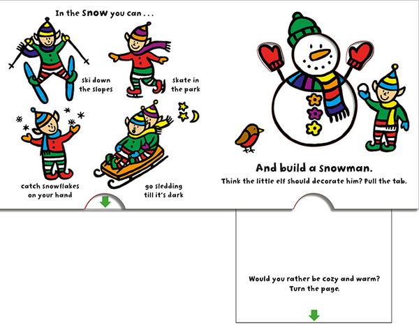 《聖誕節.幼兒神奇變色操作書》CHRISTMAS SURPRISE /硬頁操作書【麥克書店】