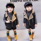 兒童馬甲秋冬款新款韓版3歲嬰幼兒小女孩加絨牛仔馬甲 CY潮流站