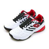 LIKA夢 LOTTO 全地形進階旗艦網球鞋 ULTRASPHERE ALR系列 白黑紅 6406 男