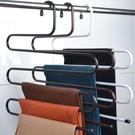 【4枚入】衣櫃收納架掛褲子家用S型多層【奇趣小屋】