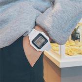 潮流ulzzang青少年手錶男女學生ins原宿風電子錶韓版簡約方形學院  極有家