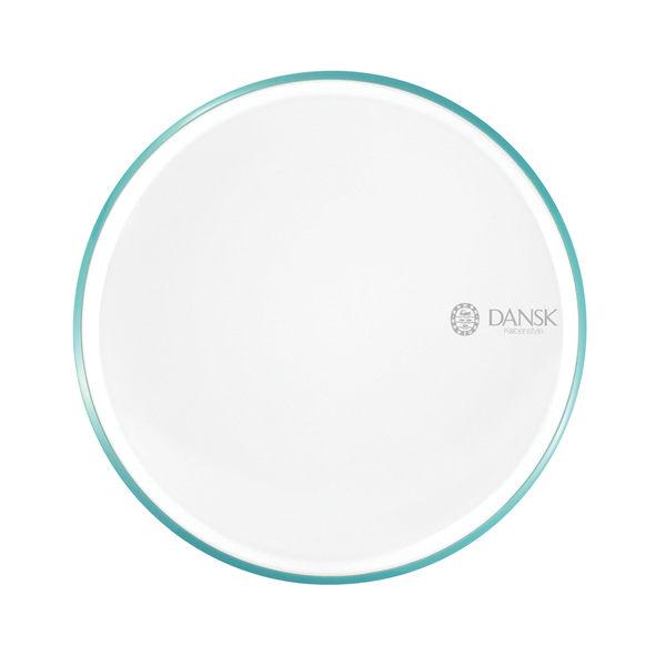 DANSK 琺瑯材質餐盤(藍綠色)21CM-fujidinos