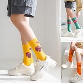 襪子女ins潮中筒襪可愛日繫長筒春秋運動長襪網紅春夏季薄款 韓國時尚週