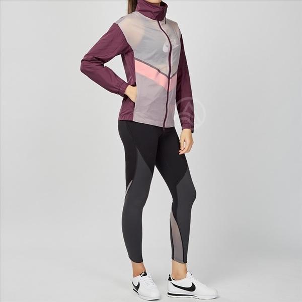 Nike Run Jacket 紅白 立領 教練 防風 慢跑 外套 724098-681
