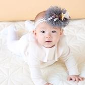星星網紗流蘇髮帶 髮帶 髮飾 星星 嬰兒 幼兒
