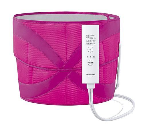 Panasonic【日本代購】松下 空氣按摩器 腰臀部 EW-NA75-粉紅