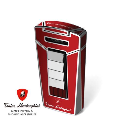 義大利 藍寶堅尼精品 - AERO LIGHTER 打火機(紅色) ★ Tonino Lamborghini 原廠進口 ★