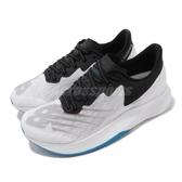 New Balance 慢跑鞋 FuelCell TC 白 黑 女鞋 競速訓練跑鞋 運動鞋 【PUMP306】 WRCXWMB