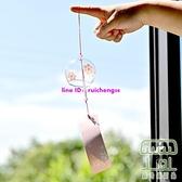 風鈴臥室掛飾和風鈴櫻花玻璃透明懸掛式鈴鐺【樹可雜貨鋪】