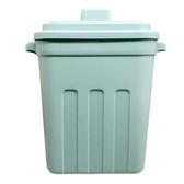 日本製【YAMADA】造型附蓋多功能桶.垃圾桶1入