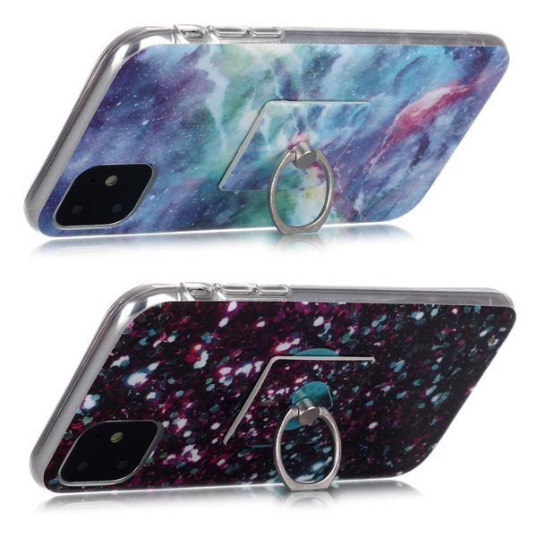 三星 A70 A60 A50 A30 A20 大理石支架 手機殼 全包邊 軟殼 支架 保護殼