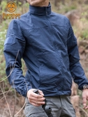 夏季防曬衣男士超薄透氣戶外防曬服男女釣魚衫皮膚衣運動風衣外套 korea嚴選
