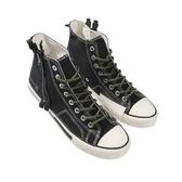 帆布鞋 帆布鞋男高筒帆布鞋學生板鞋布鞋男鞋子潮鞋中筒鞋日系 莎瓦迪卡