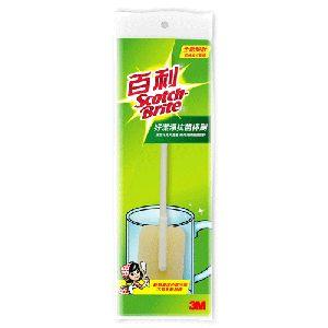 【奇奇文具】3M 888-9 百利好潔淨抗菌杯刷(1杯刷組)