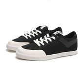 PONY 休閒鞋 黑底白LOGO 帆布鞋 輕量 百搭 男 (布魯克林) 82M1SD91BK