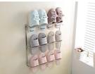 ★浴室拖鞋架壁掛廁所墻壁掛式簡易免打孔子...