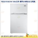 東元 TECO R1001W 100L公...