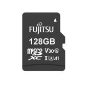 Fujitsu microSDXC UHS-I A1 V30 U3-128GB含轉卡【愛買】
